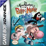 jaquette GBA The Grim Adventures Of Billy Mandy