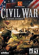 jaquette PC The History Channel Civil War A Nation Divided