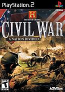 jaquette PlayStation 2 The History Channel Civil War A Nation Divided