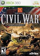 jaquette Xbox 360 The History Channel Civil War A Nation Divided