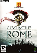 jaquette PC The History Channel Great Battles Of Rome