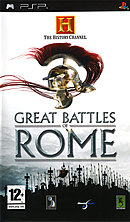 jaquette PSP The History Channel Great Battles Of Rome