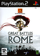 jaquette PlayStation 2 The History Channel Great Battles Of Rome