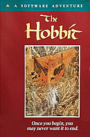 jaquette Commodore 64 The Hobbit