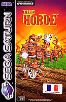 jaquette Saturn The Horde
