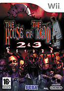 jaquette Wii The House Of The Dead 2 3 Return