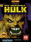 jaquette Megadrive The Incredible Hulk 1994