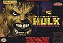 jaquette Super Nintendo The Incredible Hulk 1994