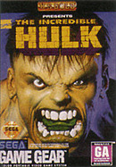 jaquette Game Gear The Incredible Hulk