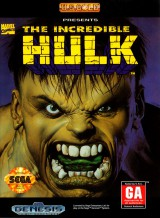jaquette Megadrive The Incredible Hulk