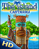 jaquette iPad The Island Castaway