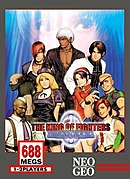 jaquette Neo Geo The King Of Fighters 2000
