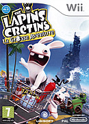 jaquette Wii The Lapins Cretins La Grosse Aventure