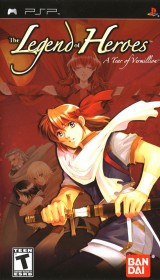 jaquette PSP The Legend Of Heroes IV