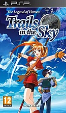 jaquette PSP The Legend Of Heroes Trails In The Sky First Chapter
