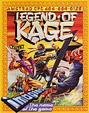 jaquette Amstrad CPC The Legend Of Kage