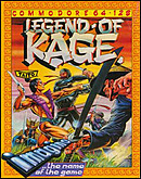 jaquette Commodore 64 The Legend Of Kage