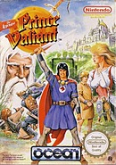 jaquette Nes The Legend Of Prince Valiant