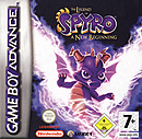 jaquette GBA The Legend Of Spyro A New Beginning