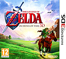 jaquette Nintendo 3DS The Legend Of Zelda Ocarina Of Time 3D