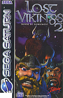 jaquette Saturn The Lost Vikings 2
