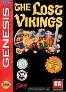 jaquette Megadrive The Lost Vikings