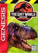 jaquette Megadrive The Lost World Jurassic Park