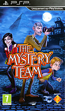 jaquette PSP The Mystery Team