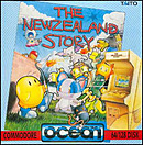 jaquette Commodore 64 The New Zealand Story