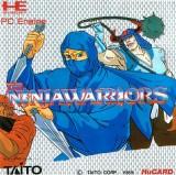 jaquette PC Engine CD ROM The Ninja Warriors