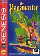 jaquette Megadrive The Pagemaster