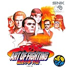 jaquette Neo Geo The Path Of The Warrior Art Of Fighting 3