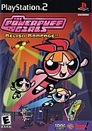 jaquette PlayStation 2 The Powerpuff Girls Relish Rampage