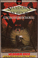 jaquette Commodore 64 The Shadows Of Mordor