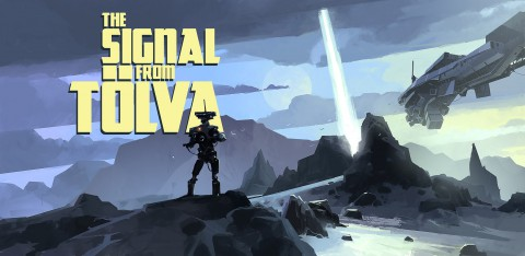 jaquette PC The Signal From Tolva
