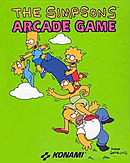 jaquette Commodore 64 The Simpsons Arcade Game