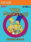 jaquette Xbox 360 The Simpsons Arcade Game