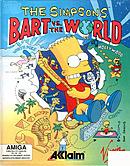 jaquette Amiga The Simpsons Bart Vs The World