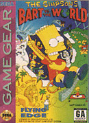 jaquette Game Gear The Simpsons Bart Vs The World