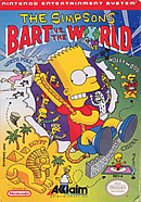 jaquette Nes The Simpsons Bart Vs The World