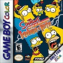 jaquette Gameboy The Simpsons Night Of The Living Treehouse Of Horror