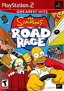 jaquette PlayStation 2 The Simpsons Road Rage