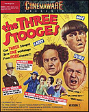 jaquette Commodore 64 The Three Stooges