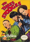 jaquette Nes The Three Stooges