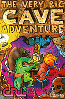 jaquette Commodore 64 The Very Big Cave Adventure