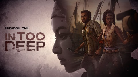 jaquette PlayStation 4 The Walking Dead Michonne Episode 1 In Too Deep
