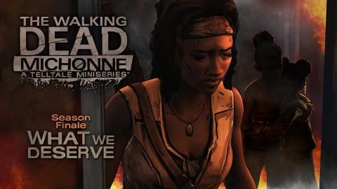 jaquette PlayStation 4 The Walking Dead Michonne Episode 3 What We Deserve