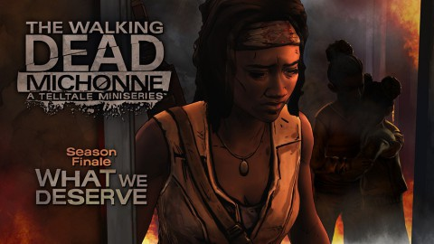 jaquette Xbox 360 The Walking Dead Michonne Episode 3 What We Deserve
