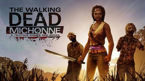 jaquette PlayStation 4 The Walking Dead Michonne