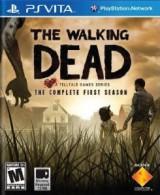 jaquette PS Vita The Walking Dead Saison 1
